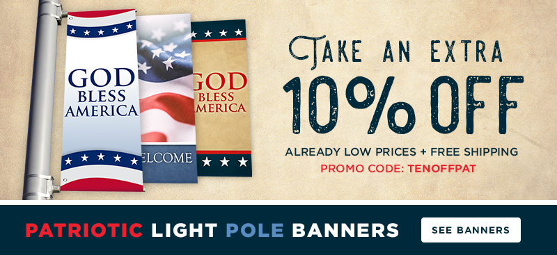 Patriotic Banners for Church