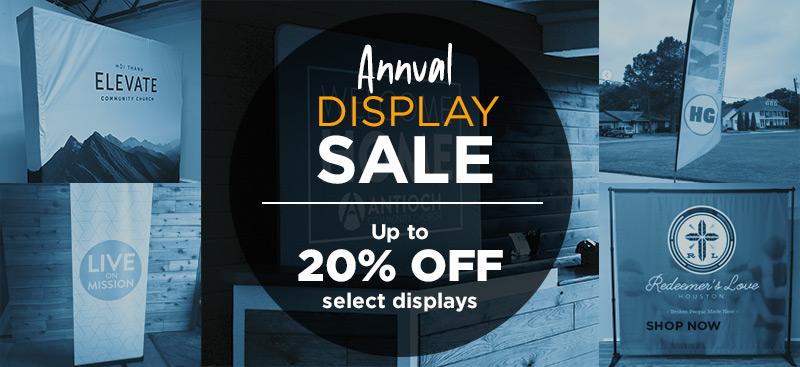Church Display Sale