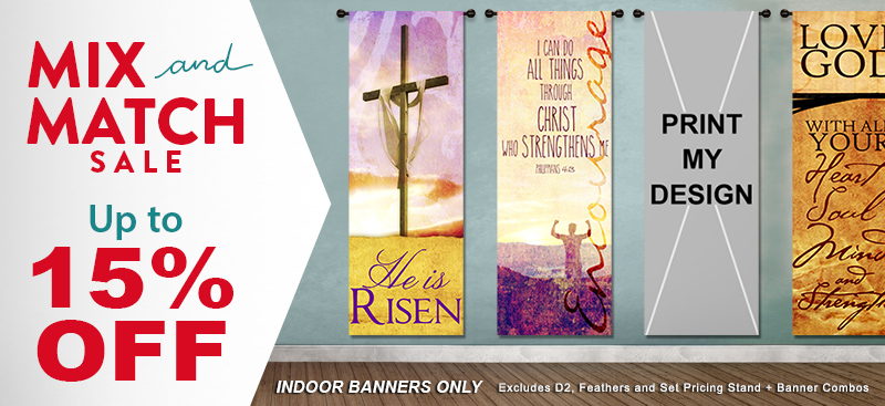 praise and worship banners