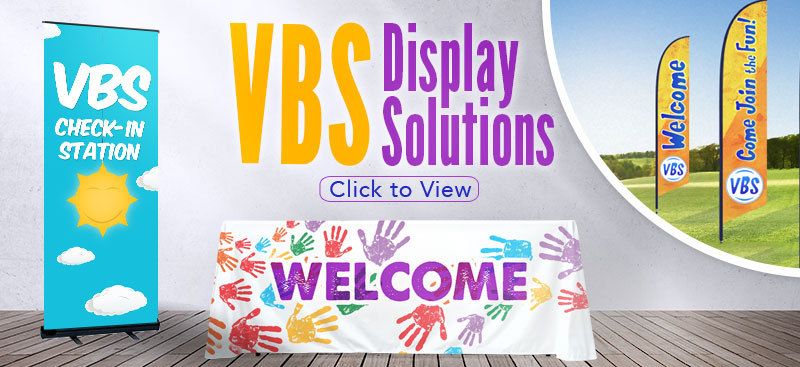 vbs banners and displays