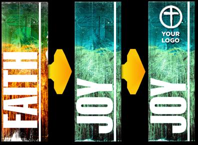 Custom Banner Options - Vertical vinyl banners