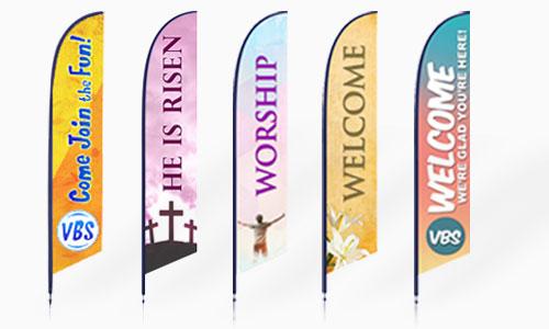 Church Banners & Displays | Fabric & Vinyl Banners | ChurchBanners.com