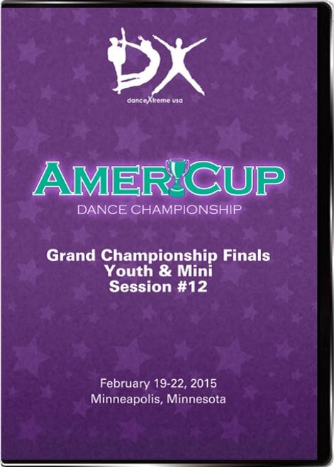 DX AmeriCup 2015 DVD Video Case