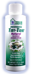 - Safe for Aquaponics & Hydroponics - TidyTank contains naturally occurring beneficial bacteria that break down organic debris in gravel and filters - Reduces odours - Keeps tanks and gravel clean and removes sludge from substrates - Helps control algae by reducing algae's food source.
