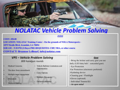 NOLATAC VPS - Vehicle Problem Solving Course