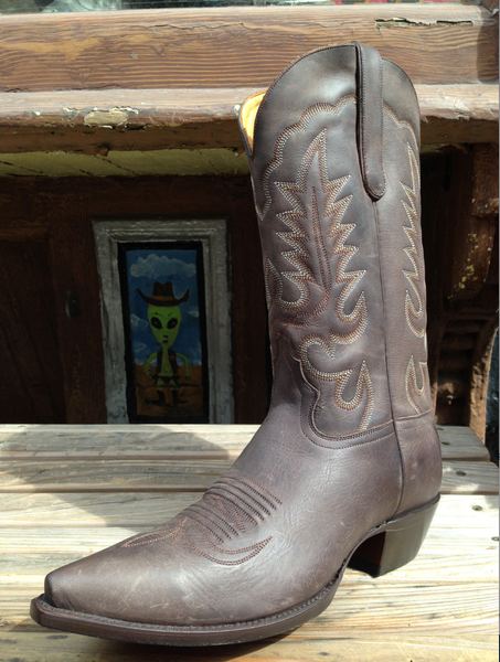 Men's Chocolate Cowboy Boot
