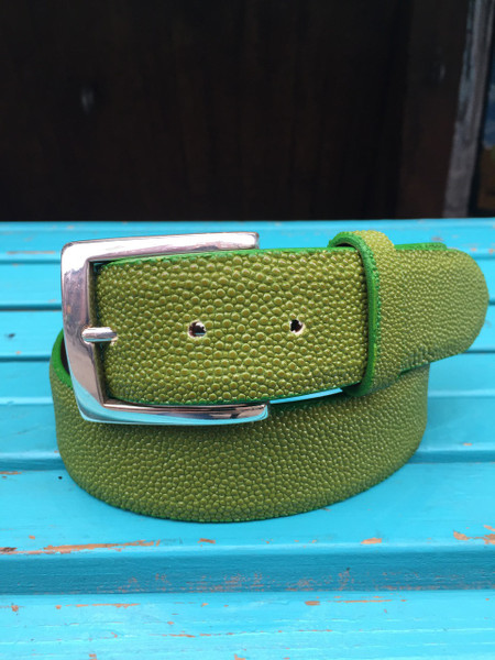 Genuine Green Stingray Belt