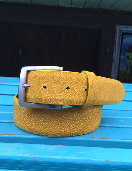 Genuine Yellow Stingray Belt