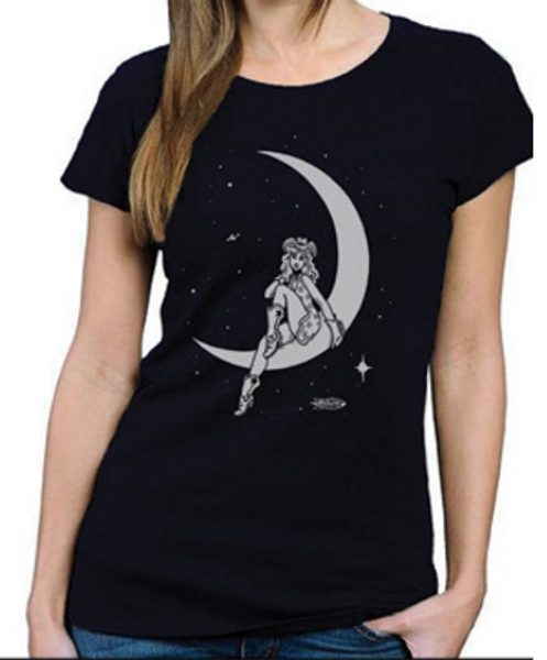 Moon Girl Bamboo T-Shirts