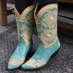 Turquoise Calabasas Cowgirl