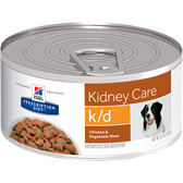 Hill's Canine k/d Chicken & Vegetable Stew (24 x 5.5 oz. Cans)