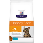Hill's Feline c/d with Ocean Fish Urinary Tract Health (4 lb. Dry)