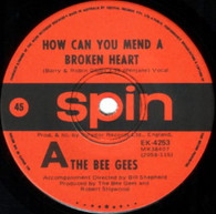 BEE GEES  -   How can you mend a broken heart/ Country woman (G8344/7s)