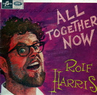 HARRIS,ROLF  -  ALL TOGETHER NOW The court of King Caractacus/ Waltzing Matilda/ Click go the shears/ Botany Bay (61590/7EP)