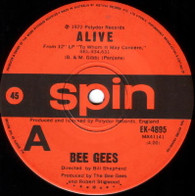 BEE GEES  -   Alive/ Paper mache, cabbages and kings (G6936/7s)