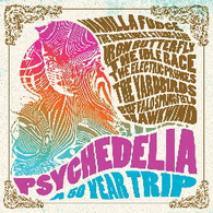 VARIOUS - PSYCHEDELIA : A 50 YEAR TRIP (2CD)    (CD25181/CD)