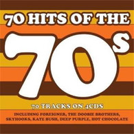 VARIOUS - 70 HITS OF THE 70S (4CD)    (CD25251/CD)