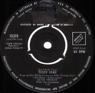 PRESLEY,ELVIS  -   (Let me be) your teddy bear/ Loving you (82355/7s)
