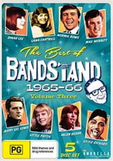 VARIOUS - BEST OF BANDSTAND VOLUME 3 : 1965-66 (5DVD)    (DVD2479/DVD)