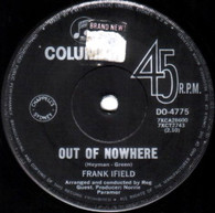 IFIELD,FRANK  -   Out of nowhere/ And I always will do (G64259/7s)