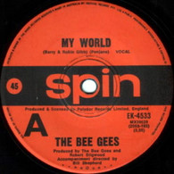 BEE GEES  -   My world/ On time (G7047/7s)