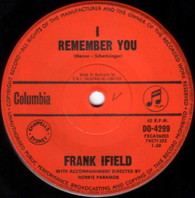 IFIELD,FRANK  -   I remember you/ I listen to my heart (G70285/7s)