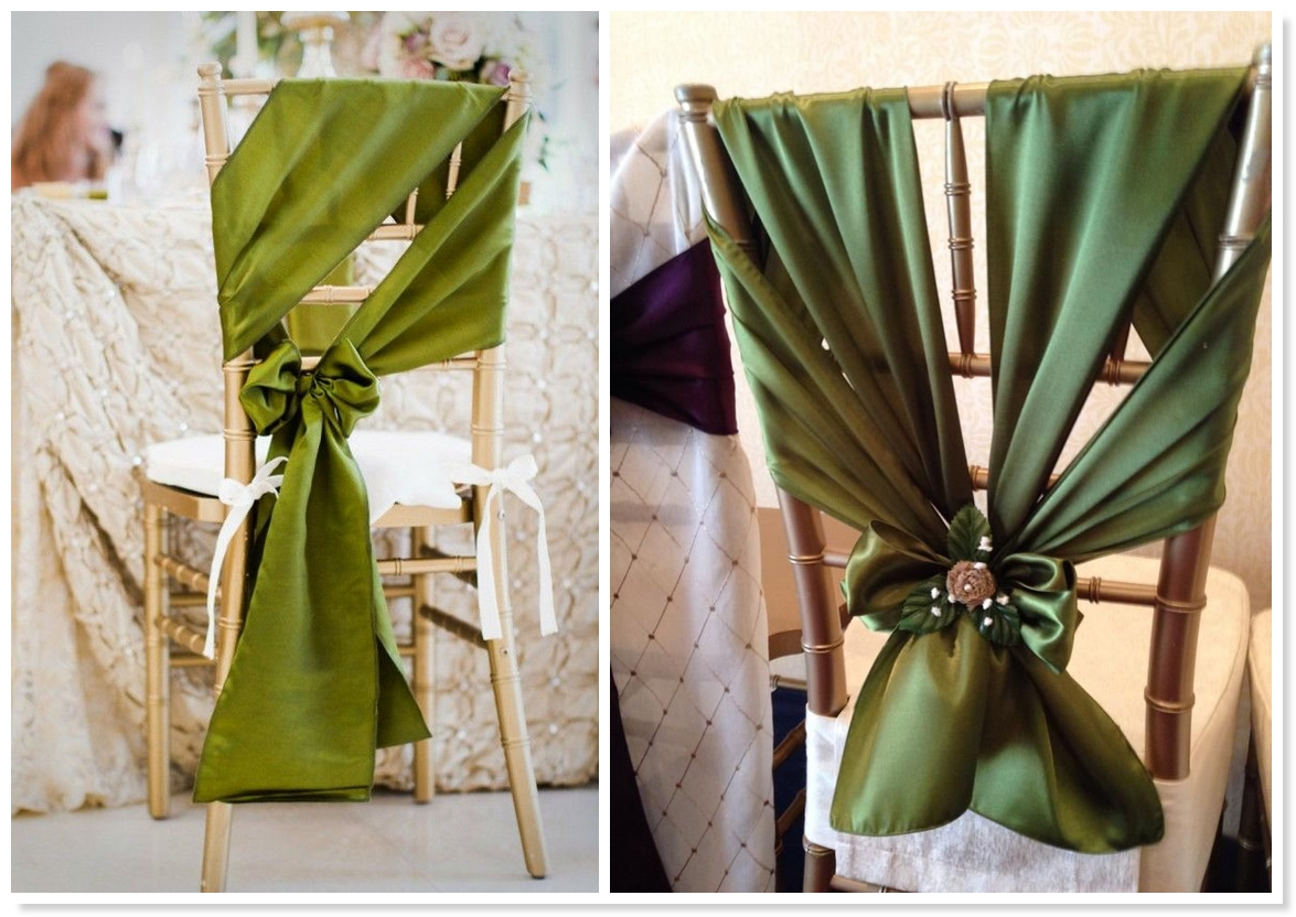 Wedding Chairs Bows