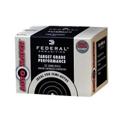 Federal AutoMatch Target Ammo 22 LR 40 Grain Lead Round Nose Ammunition 325RND Box