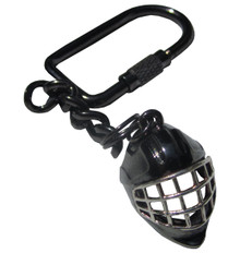 HOCKEY GOALIE HELMET KEYCHAIN