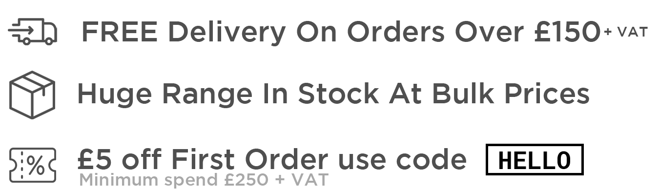Free delivery £150+ | Huge range in stock | first order discount