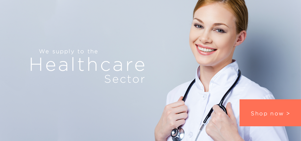We supply to the Healthcare sector