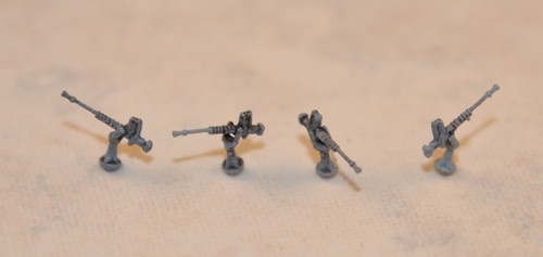 Built and painted examples- pose gun at any elevation!