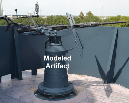 Modeled artifact