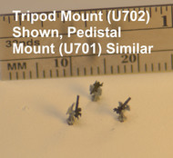 1/700 Single 20-mm Oerlikon Cannons (Tripod Mount) -30 pcs