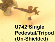 1/700 Un-Shielded Single 20-mm Oerlikon Cannons (Pedestal Mount) - 30 pcs