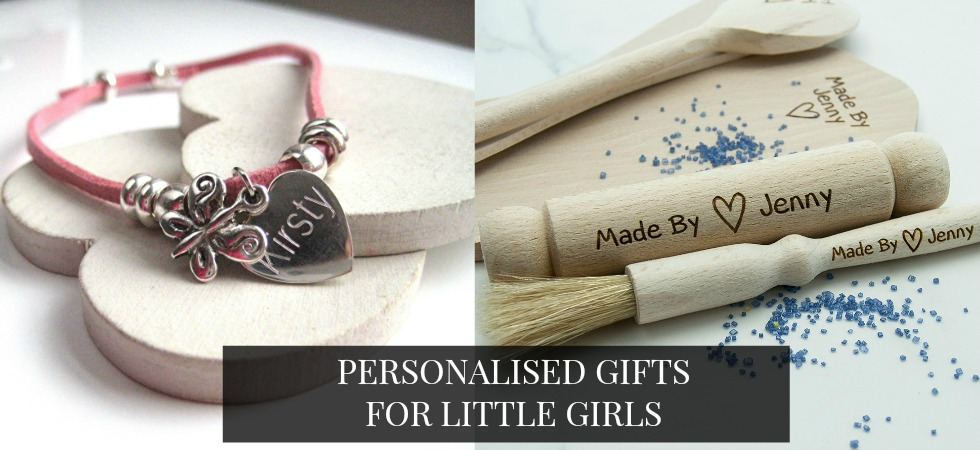 Personalised Gifts for Girls Bracelets Necklace & Baking too.