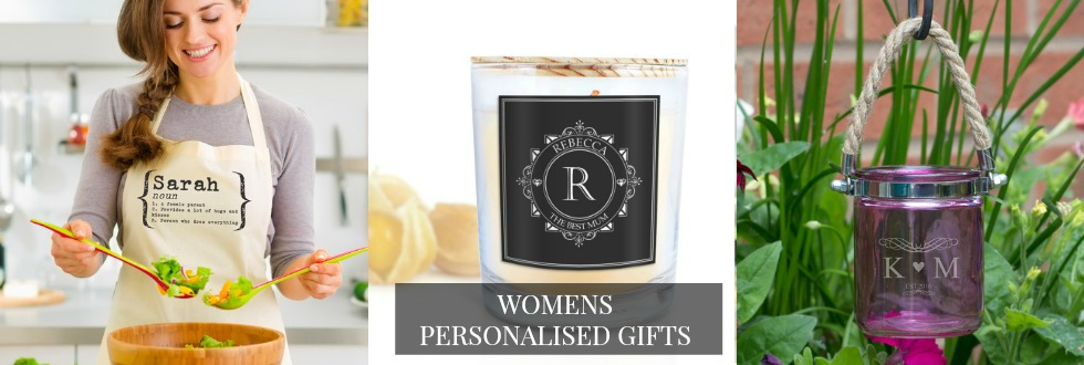 personalised womens gifts uk