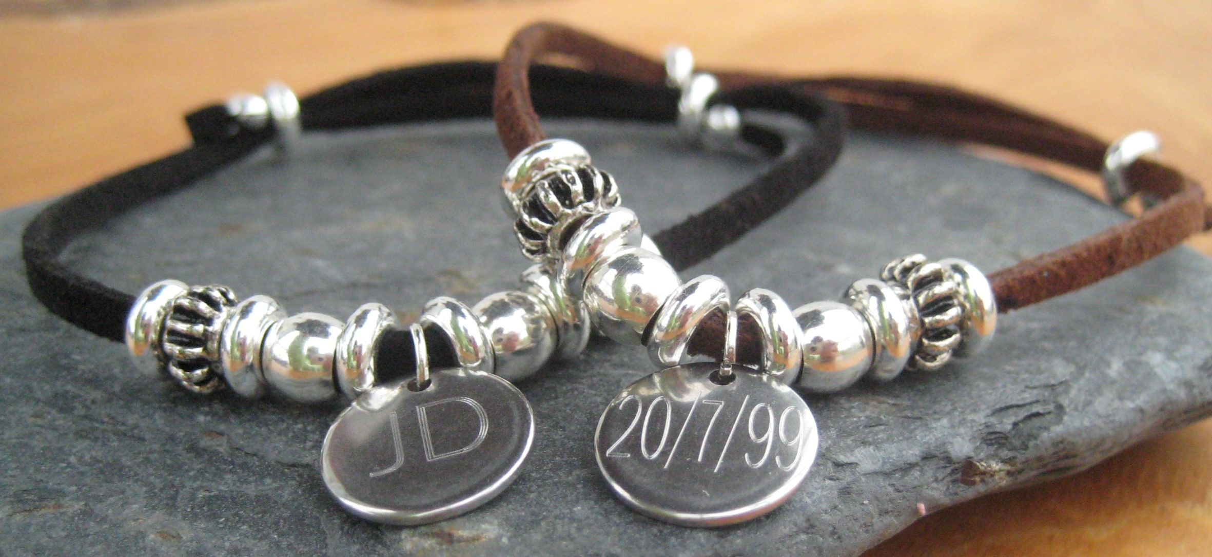 Personalised mens jewellery UK