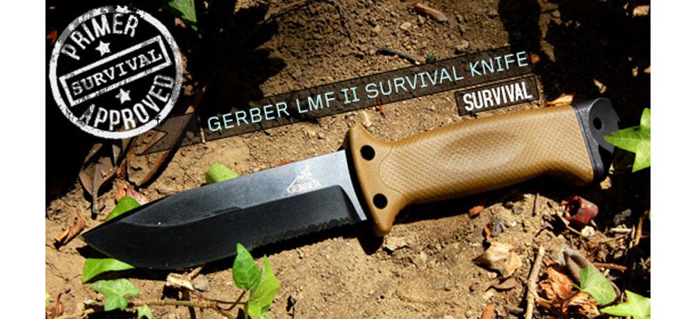 Gerber LMF Field Knife