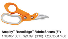 "Fiskars - Amplify RazorEdge Fabric Shears (6"") - 7061"