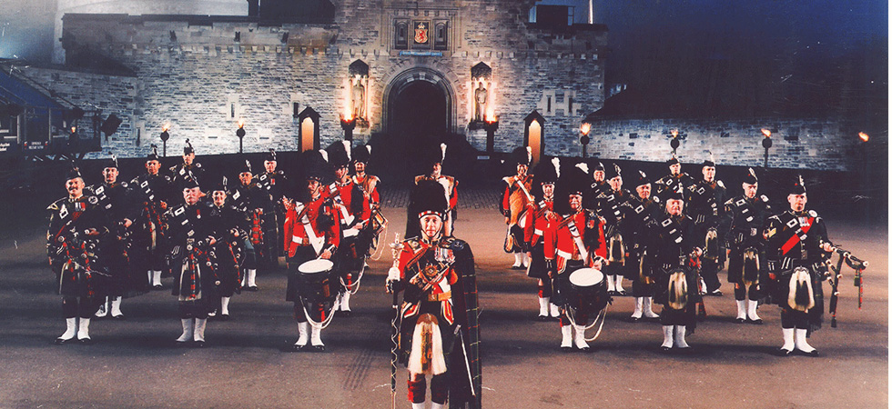 Canadian Scottish Regiment Edinburgh Tattoo