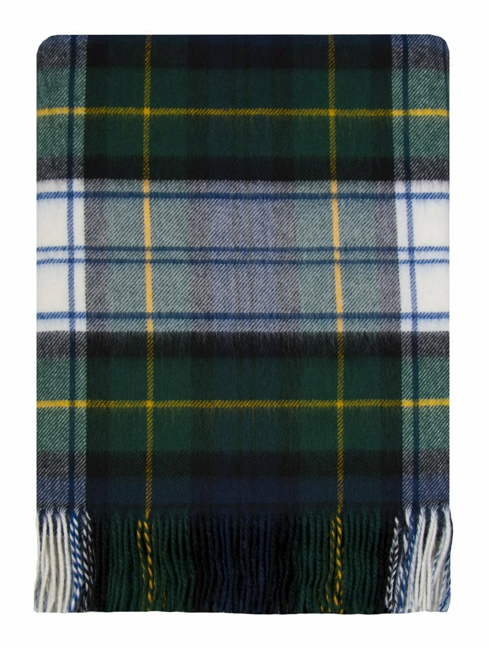 Gordon dress modern lambswool tartan or plaid blanket
