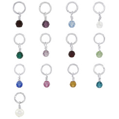 Swarovski Birthstone Drop