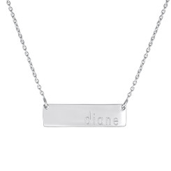 The Dillon Necklace with Chain