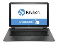 HP Pavilion 17-F121DS Touchscreen Laptop - AMD A4 / X4 - 1.8GHz - 8GB RAM, 1TB HDD, Windows 8.1, Silver