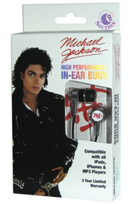 Michael Jackson (Bad) - In-Ear Buds