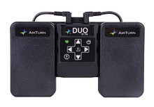 Air Turn. DUO BT106 Transmiter & 2-Pedal Bluetooth Page Turner
