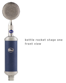 Blue Mic Bottle Rocket Stage 1 Front