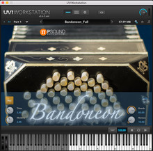 P Sound Bandoneon Virtual Instrument (Electronic Download)