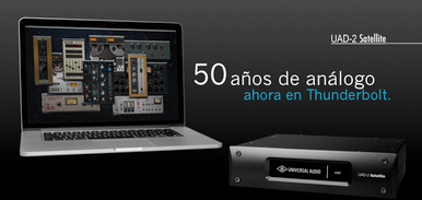 Universal Audio UAD-2 Satellite Thunderbolt OCTO Core